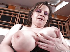 Traci is always hungry for cock and when you watch her masturbate, you can see just how far she will go for that orgasm! Watch as she gets herself off again and again!