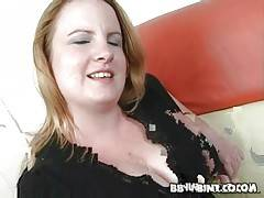 Cute blond fattie Nichole doesn`t at all mind to get fucked.