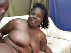 Black Fattie Is Fond Of Getting Fucked Hard 2