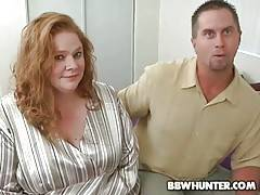 BBW hunters know well how to seduce good looking plumper.